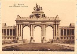 CPM - BRUXELLES - Arcade Monumentale Du Cinquantenaire - Monuments, édifices