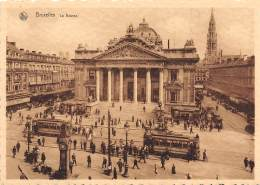 CPM - BRUXELLES - La Bourse - Monumenten, Gebouwen