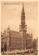 CPM - BRUXELLES - La Grand'Place - Côté Sud-Ouest : L'Hôtel De Ville - Places, Squares