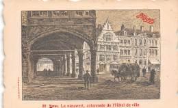 YPRES - Le Nieuwert, Colonnade De L'Hôtel De Ville - Ieper