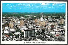 Texas, San Antonio, Tophouse View, Unused - San Antonio