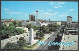 Texas, San Antonio, The Cenotaph, Unused - San Antonio