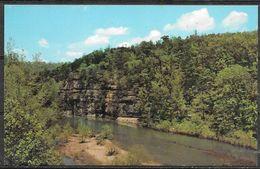 Arkansas, Buffalo River In Ozarks, Unused - United States