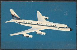Delta Air Lines, Convair 880, Unused - 1946-....: Modern Era