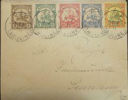 O) 1902 GERMANY COLONY-CAROLINE ISLANDS, KAISEYACHT - HOHENZOLLERN, WAR VESSEL OF THE IMPERIAL NAVY 1880, XF - Colony: Caroline Islands