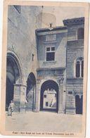 442 FANO ARCO BORGIA SUL FRONTE DEL VOLTONE MALATESTIANO ANIMATA 1928 - Fano