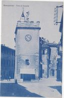 448 MONTEPULCIANO SIENA TORRE DI PULCINELLA ANIMATA 1930 CIRCA - Siena