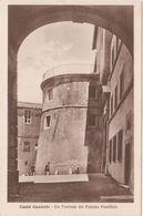 449 CASTEL GANDOLFO ROMA UN TORRIONE DEL PALAZZO PONTIFICIO 1930 CIRCA - Italië