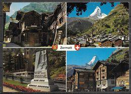 Switzerland, Zermatt, Valais, Multiview, Unused - VS Valais