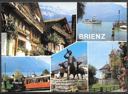 Switzerland, Brienz, (Berner Oberland) Multiview, Unused - BE Berne