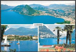 Switzerland, Lugano, Ticino, Multiview, Unused - TI Ticino