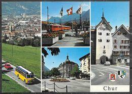 Switzerland, Chur, Grissons, Multiview, Unused - GR Grisons