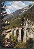 Switzerland, Landwasser Viadukt Dur Rhat, Bahn Bei Filsur, Unused - TG Thurgovia