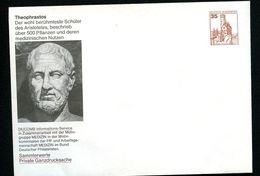 GERMANY PU250 B1/009-8 Special Envelope THEOPHRASTUS1985  NGK 5,00 € - Natura