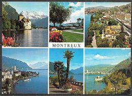Switzerland, Montreux, Vaud, Multiview, Unused - VD Vaud