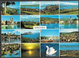 Switzerland, Zurichsee, Multiview, Unused - ZH Zurich