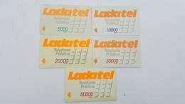 MÉXICO - GPT - LADATEL -5000, 1000,0 20000, 30000 & 50000 - SET COMPLETO - Mexico