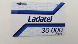 MÉXICO - GPT - LADATEL 30 000 - RARE - Mexico