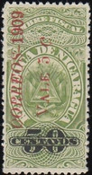 NICARAGUA - Scott #233 Revenue Stamp 'Surcharged' / Mint NH Stamp - Nicaragua