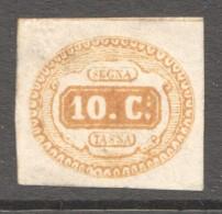 Taxe #1 - Ocre  * - Portomarken