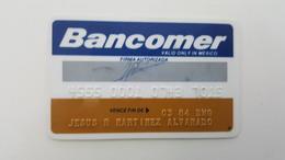 MEXICO - CREDIT  CARD - VISA - BANCOMER BANK - 1984 - Geldkarten (Ablauf Min. 10 Jahre)