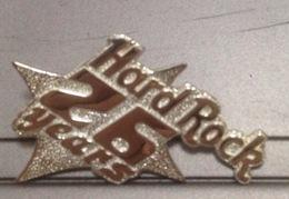 Hard Rock Cafe STAFF Silver PIN : 26th Anniversary Of HRC Bangkok Thailand / 02 Photo - Music