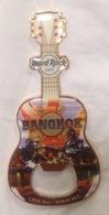 HRC Hard Rock Cafe Bangkok : Muay Thailand City Guitar Bottle Opener Magnet - Music