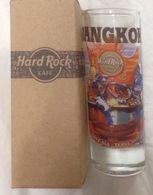 "HRC Hard Rock Cafe Bangkok Thailand Cordial City Shot Glass 4"" - Brand New !!! - Music"
