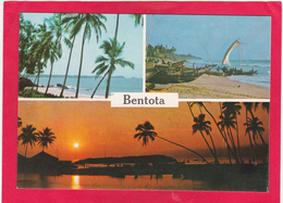 Modern Multi View Post Card Of Bentota, Southern, Sri Lanka,B36. - Sri Lanka (Ceylon)