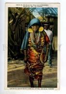 247925 PANAMA San Blas Indian Bride 1934 Year USA RPPC - Panama