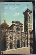 33 EUROPE . FIRENZE . LA FACCIATA DELLA CATTEDRALE . (recto/verso) - Firenze (Florence)