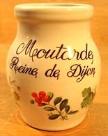 POT VIDE SANS BOUCHON MOUTARDE REINE DE DIJON / REVOL LA PORCELAINE 10 - Other Collections