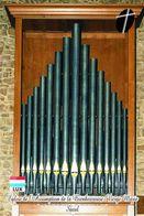 Carte Postale, églises, Orgues, Churches Of Luxembourg, Saeul, Église De J'Assomption De La Bienheureuse-Vierge-Marie - Kerken En Kathedralen