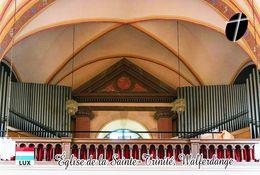 Carte Postale, églises, Orgues, Churches Of Luxembourg, Walferdange, Église De La Sainte-Trinité - Kerken En Kathedralen