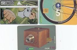 11491-N°. 5 SCHEDE TELEFONICHE-PAESI BASSI-USATE - Netherlands