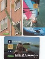 11492-N°. 5 SCHEDE TELEFONICHE-PAESI BASSI-USATE - Netherlands