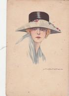 -  Carte Dame Au Chapeau - 017 - Nanni