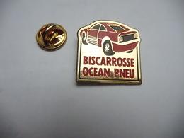 Beau Pin's , Auto , Biscarosse Océan Pneu , Tyres , Landes - Badges