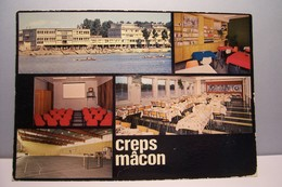 MACON    ---    C.R.E.P.S.  De  MACON  - MULTIVUES  - ( Pas De Reflet Sur L'original ) - Macon