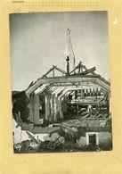 Guerre 39/45  - RENNES  Attentat Anglo-américains  Sur L'église Saint-martin - Places