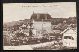 Saint Jean Le Thomas Villas Sur La Plage - Avranches -  CPA Manche Normandie - Très Bon état - Avranches