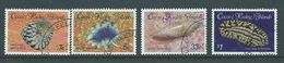 Cocos Keeling Island 1985 Shell & Sea Mollusc Marine Fauna Definitive First Issue Set 4 FU - Cocos (Keeling) Islands