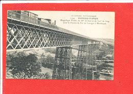 23 BUSSEAU D ' AHUN Cpa Train Sur Le Magnifique Viaduc         1774 - Francia