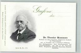 52287424 - Dr. Theodor Mommsen Das Grosse Jahrhundert Serie E No.173 - Scrittori