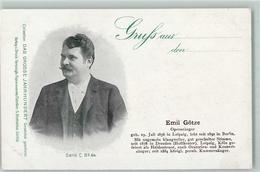 52287454 - Emil Goetze Das Grosse Jahrhundert Serie C No.64 - Cantanti E Musicisti