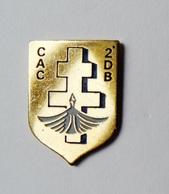 Pin's Armée 2e DB CAC Croix De Lorraine - Badges