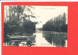 23 PAUMULLE Cpa Animée Barque Sur La Creuse           49 Edit Langlois - France
