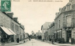 SAINT BRICE EN COGLES - France