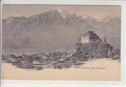 CHATEAU DU CHATELARD  - DOS UNIQUE - N/C - VD Vaud