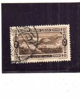 LIBANO LEBANON GRAND LIBAN 1925 ZAHLE 2p USATO USED OBLITERE' - Libano